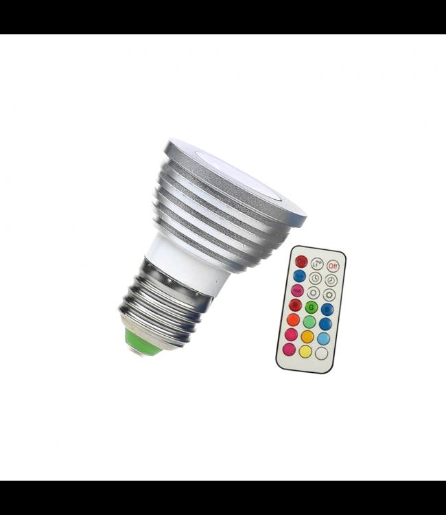 LED Spot RGB - 5 Watt - E27