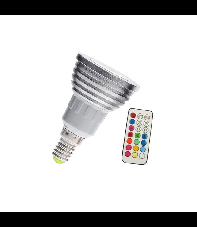 LED Spot RGB - 5 Watt - E14