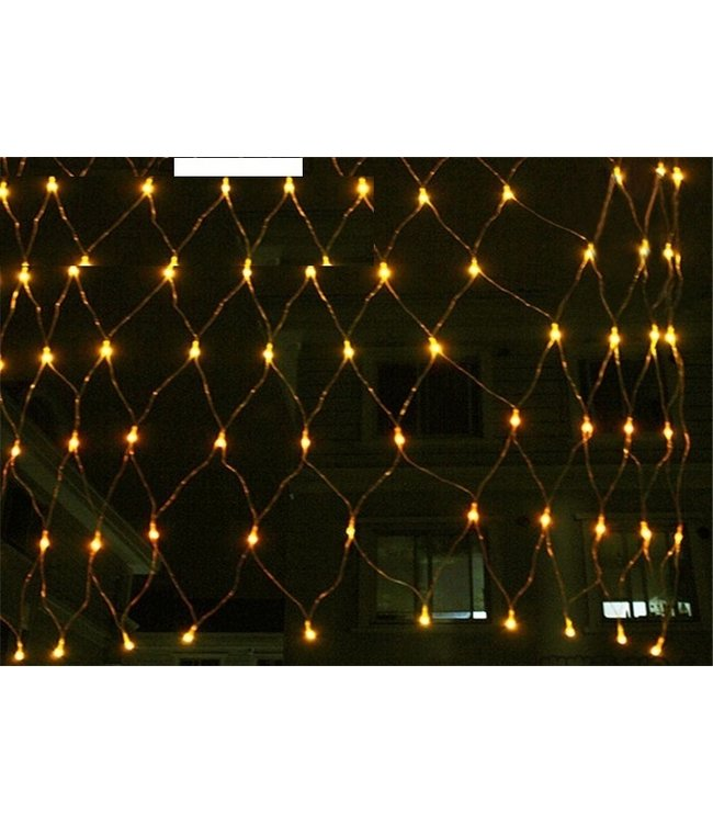 Kerstnet 1.5 x 1.5 Meter - Warm Wit