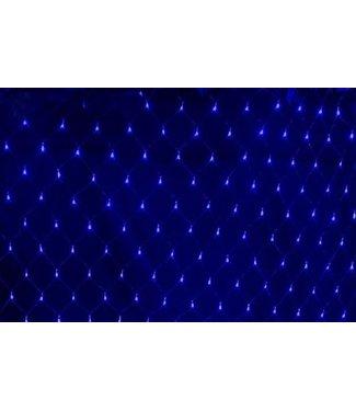 Kerstnet 1.5 x 1.5 meter - Blauw