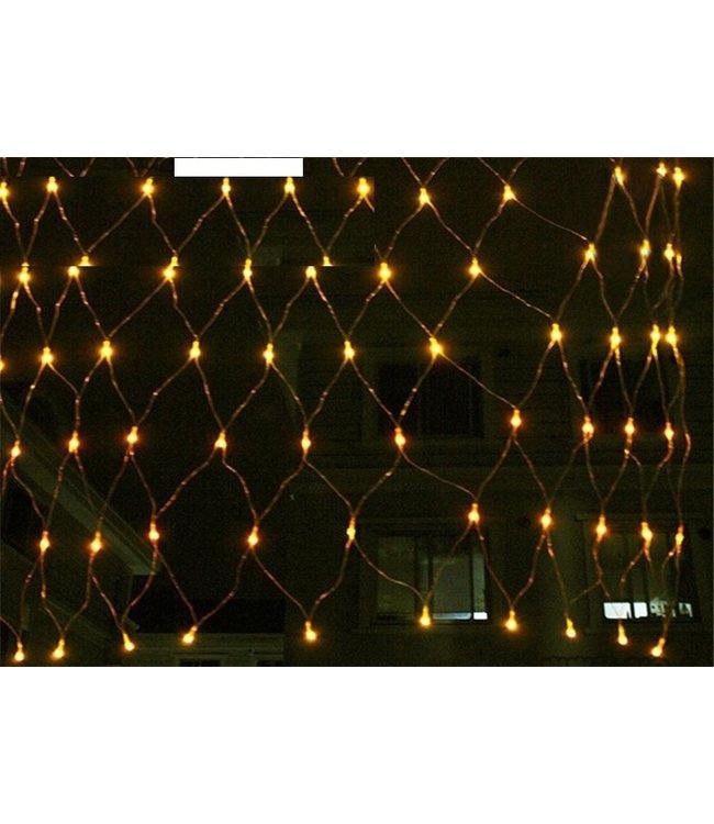 Kerstnet 2 x  3 Meter - Warm Wit