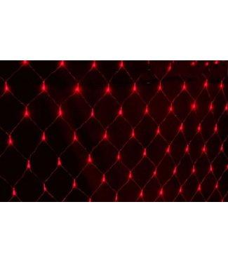 Kerstnet 2 x  3 Meter - Rood