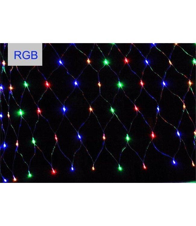 Kerstnet 2 x  3 Meter - RGB