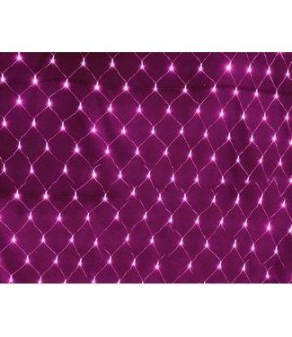 Kerstnet 1.5 x 1.5 Meter - Roze