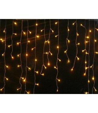 Kerst - Gordijn 3.5 x 1.0 Meter - Warm Wit