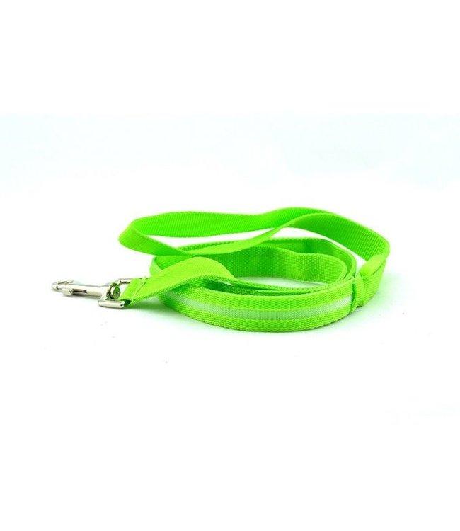 LED Hondenriem - Groen