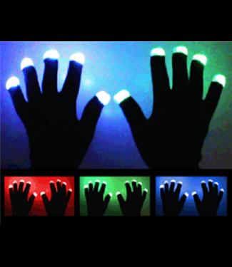 LED Handschoenen - Zwart