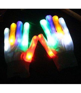 LED Handschoenen - Wit