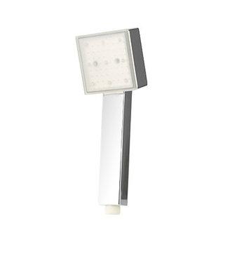 LED Douchekop Regenboog - Vierkant