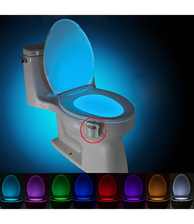 LED Toiletpot verlichting - RGB