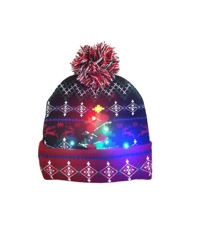 Lichtgevende Kerstmuts - 15