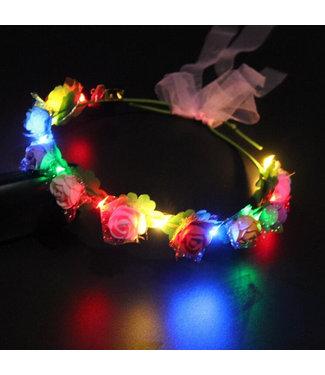 Lichtgevende Tiara / Haarband - LED - Meerdere Kleuren