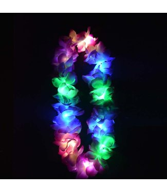 Lichtgevende Hawaii Ketting - LED - RGB - Meerdere kleuren