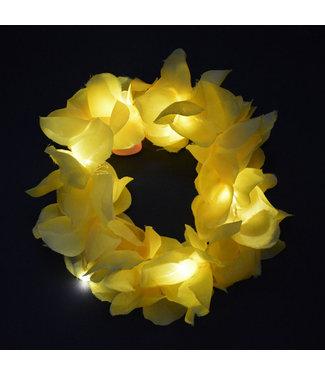 Lichtgevend Haar Frutsel - LED -Geel