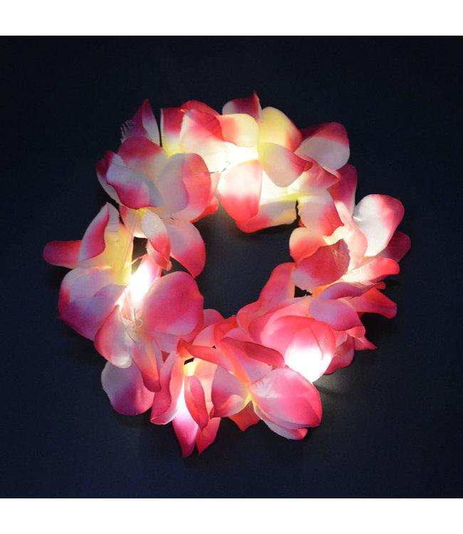 Lichtgevend Haar Frutsel - LED - Roze