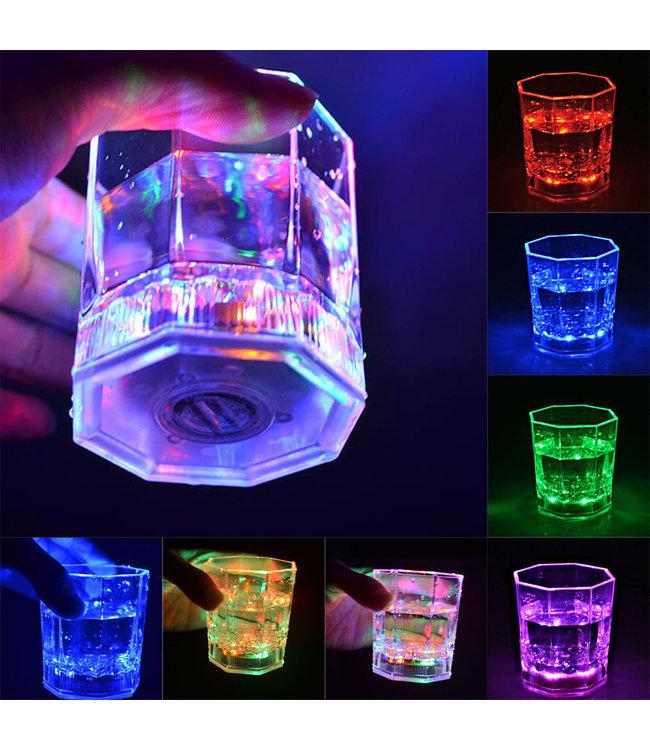 Lichtgevend Drinkglas LED - RGB