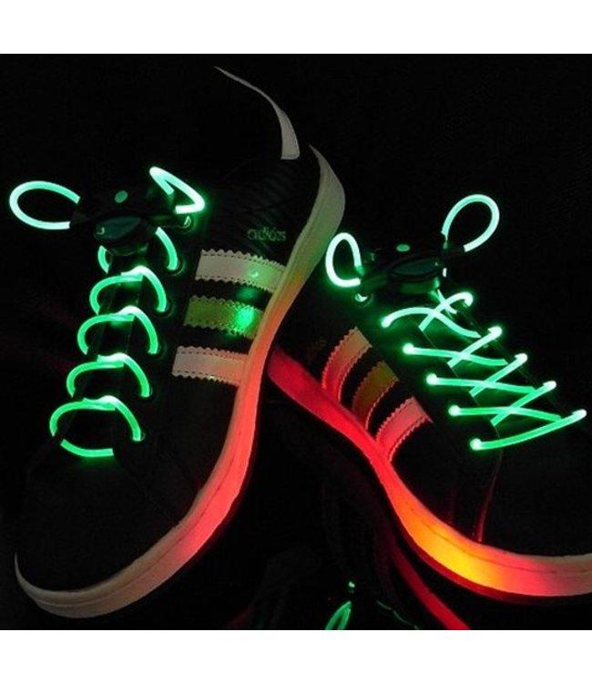 Lichtgevende  Veters - LED - Groen