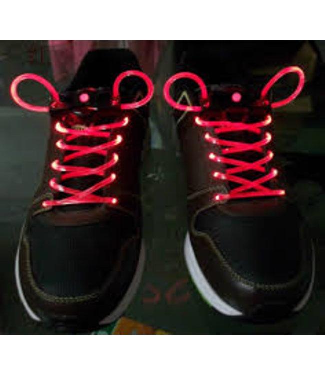Lichtgevende  Veters - LED - Rood