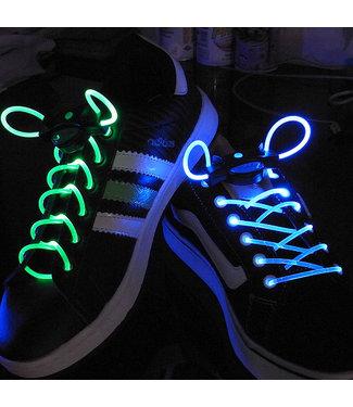 Lichtgevende  Veters - LED Blauw / Groen