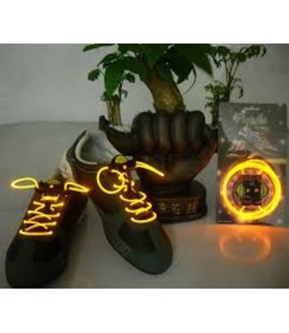 Lichtgevende  Veters - LED - Oranje