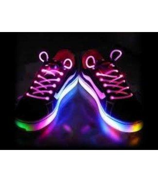 Lichtgevende  Veters - LED - Roze