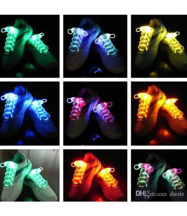 Lichtgevende  Veters - LED - Wit