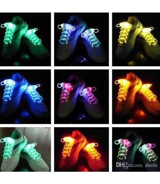 Lichtgevende  Veters - LED Rood / Geel