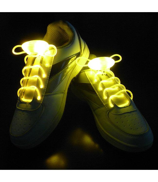 Lichtgevende  Veters - LED - Geel