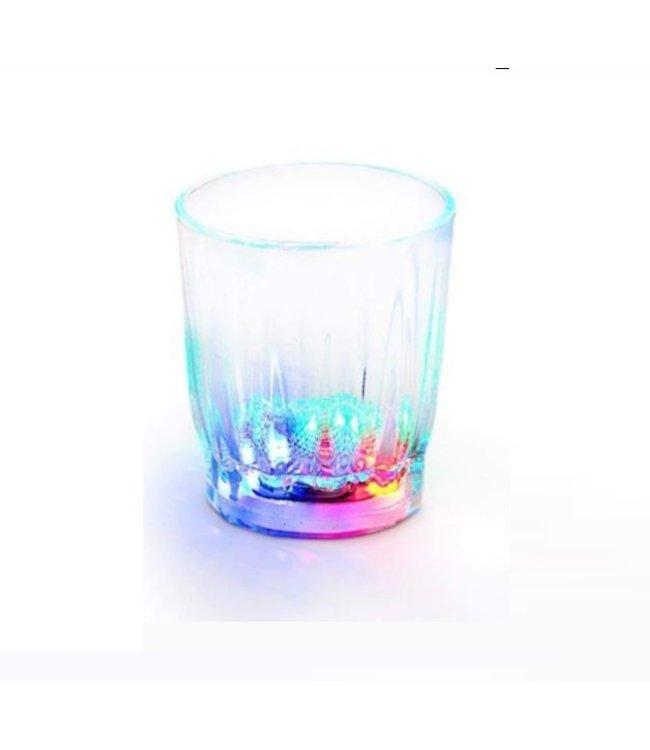 Lichtgevend Shotglaasje LED - RGB