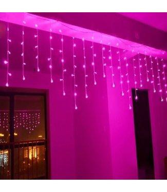 Kerst Gordijn 3.5 x 1.0 Meter - Roze