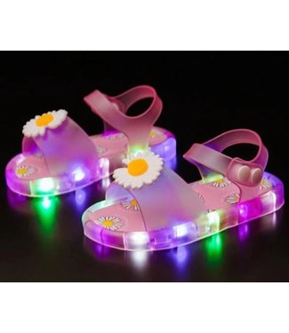LED Sandalen Bloem - Roze
