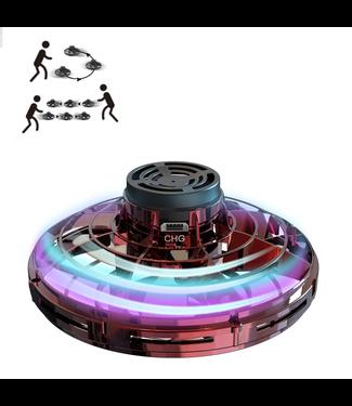 FlyNova Vliegende Spinner  -  LED - Rood