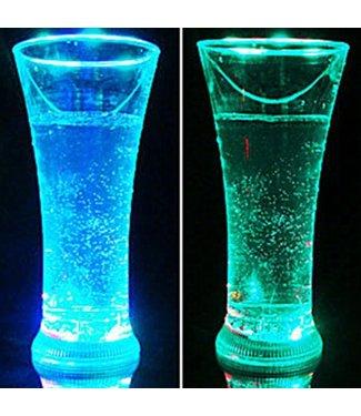 Lichtgevend Long drinkglas RGB - LED