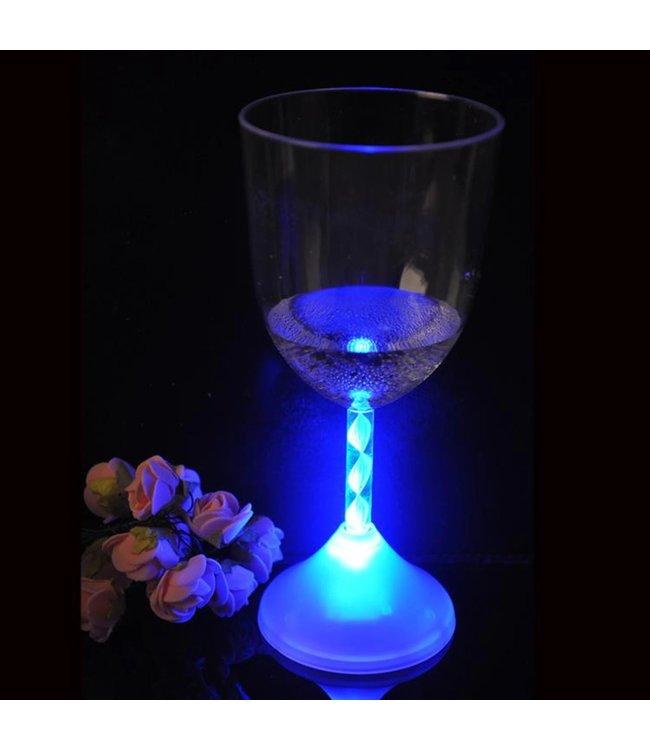 Lichtgevend Wijnglas RGB - LED