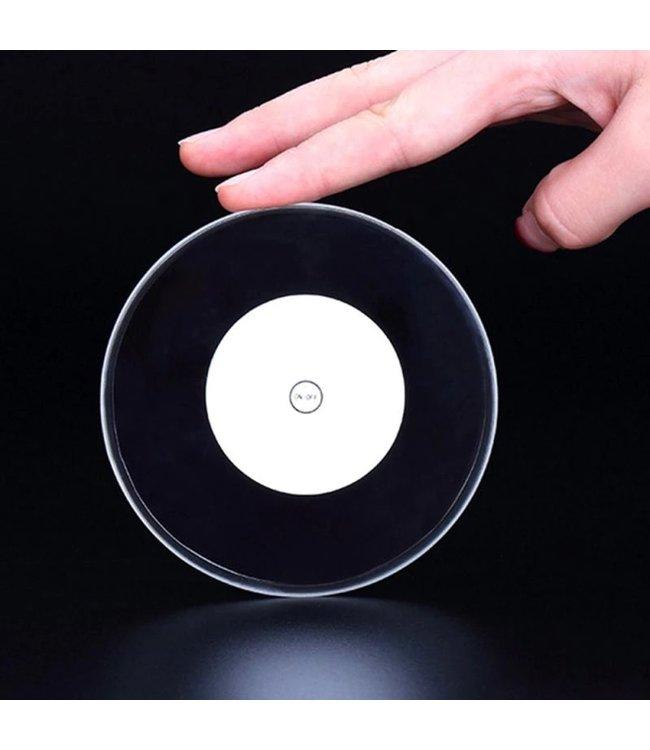 Lichtgevende Onderzetter Rond - Wit - LED
