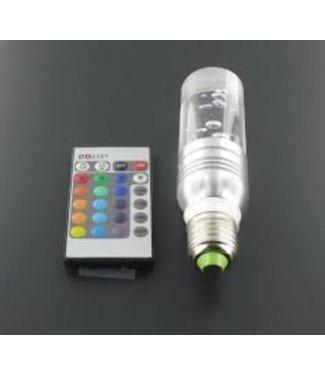 LED Kristal Staaf Lamp RGB - 3 Watt - E27