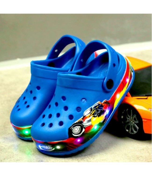 Lichtgevende Kinder Crocs - LED - Blauw