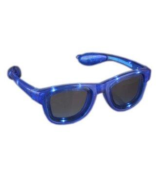 Lichtgevende Bril - Blauw - LED