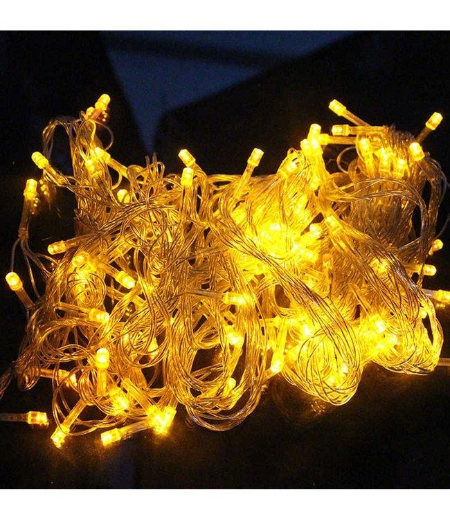 Kerstboomverlichting 30 Meter - Geel