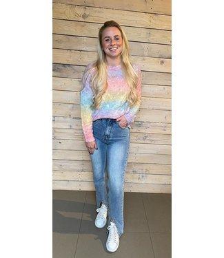 Linsy Rainbow Sweater
