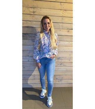 Richelle Lila Blouse