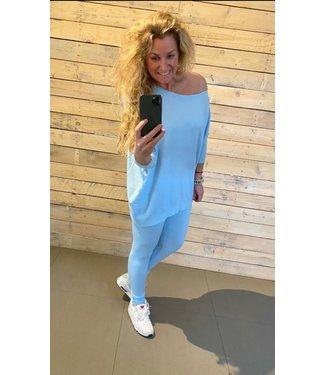 Barbara Comfy Set Baby Blue