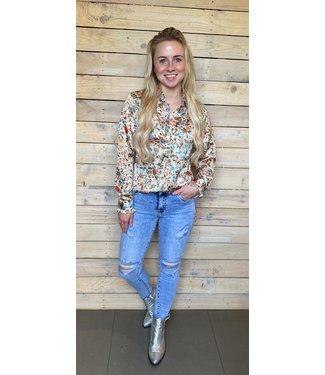 Fleur Flower blouse