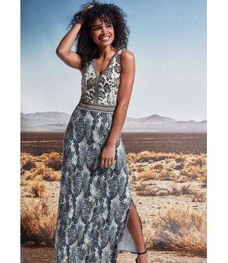 K-Design Louise Snake Green Dress