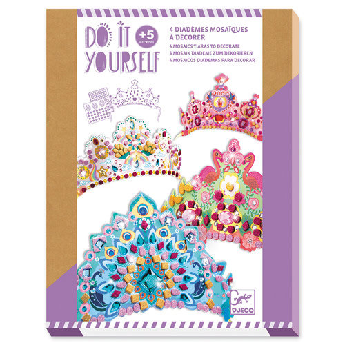 Djeco DIY - Mosaik Diademe Prinzessin
