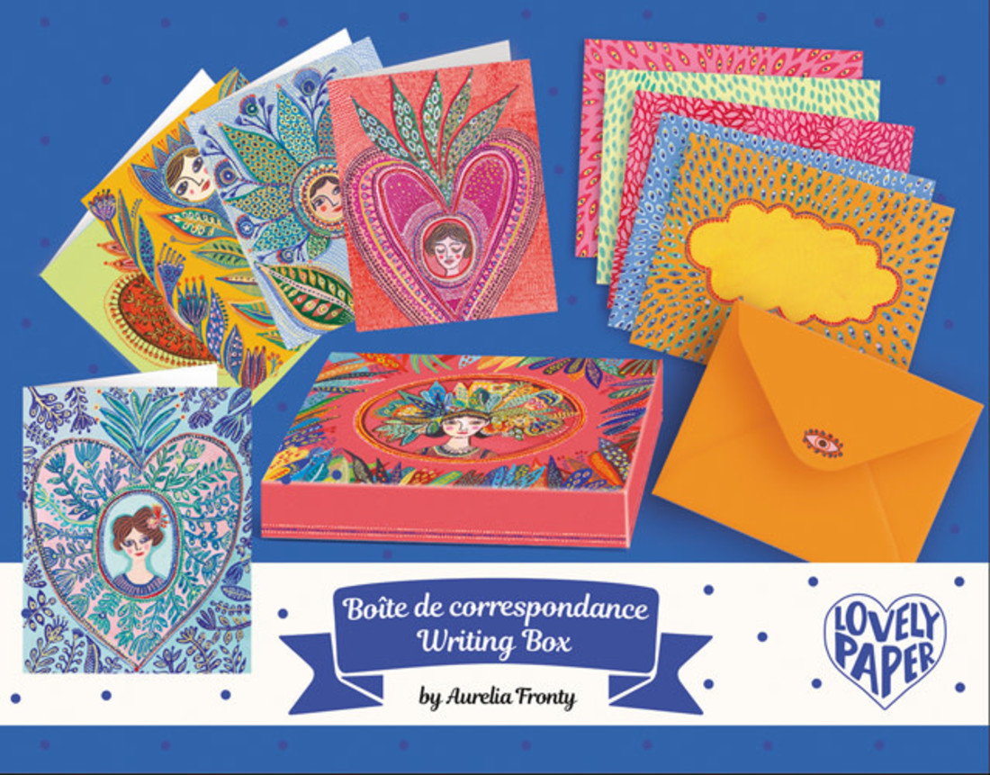 Djeco Korrespondenzbox «Aurelia»