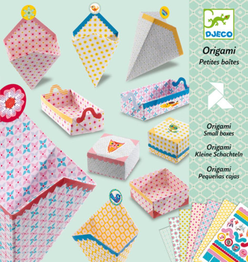 Djeco Origami - Kleine Boxen