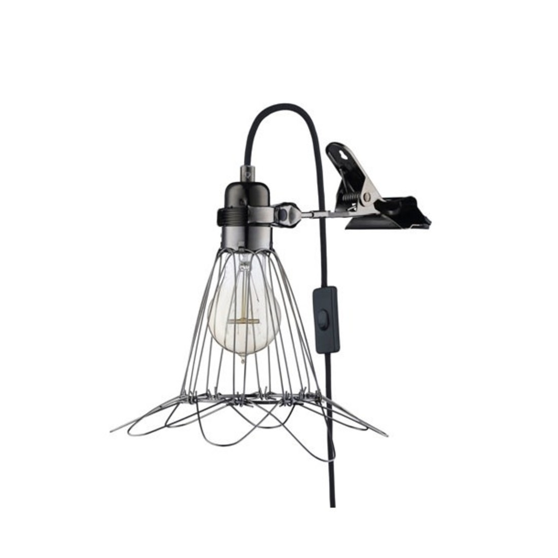 «Work Lamp delux» schwarz