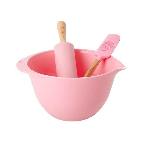 Rice Backset Kinder 3-Teilig Pink