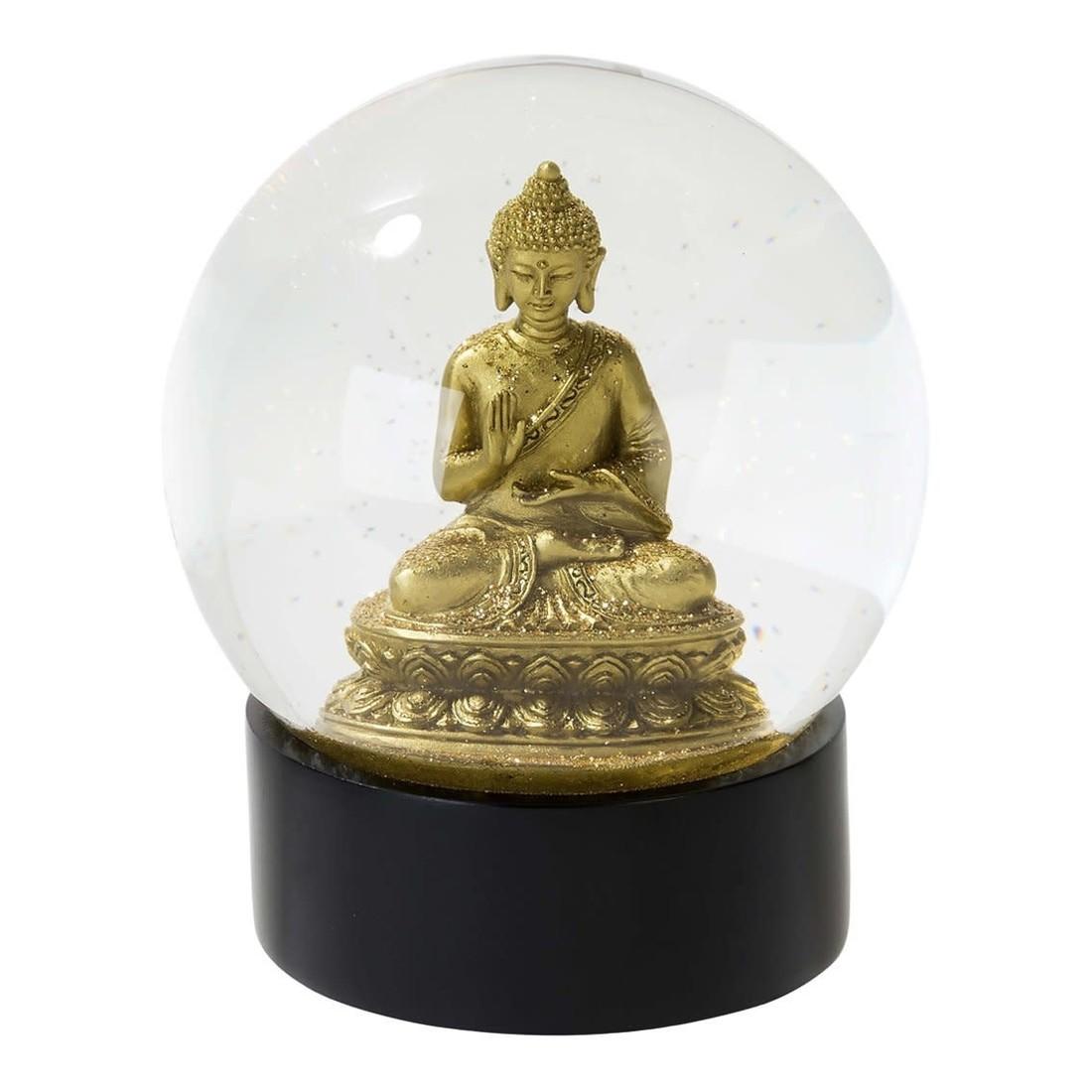 Talking Tables Schneekugel Glitzer Buddha